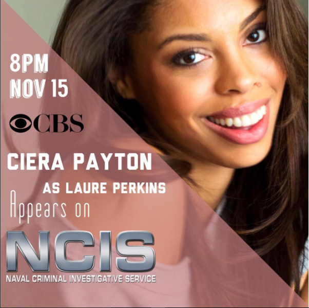 Ciera Payton Appears on NCIS